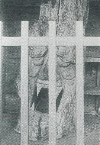 岩本寺旧仁王像