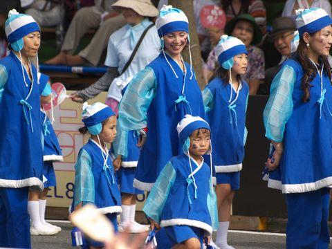 高知よさこい鳴子踊り2010