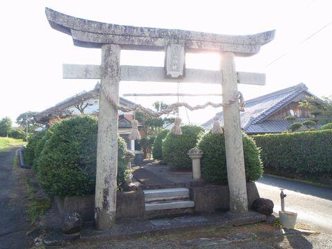 一本松町札掛篠山神社
