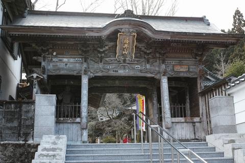 岩本寺山門
