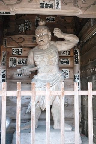 岩本寺仁王像